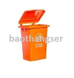 Thùng nhựa đựng rác 90 lít HITA - Không bánh xe