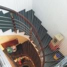 Cáp lưới cầu thang trường học