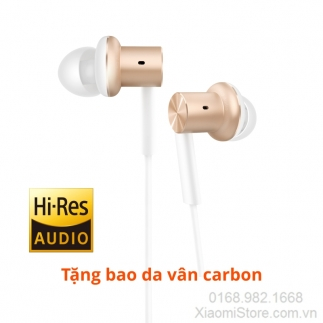 Tai nghe Xiaomi In-Ear Headphones Pro (Piston Iron) Màu Gold