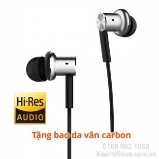 Tai nghe Xiaomi In-Ear Headphones Pro (Piston Iron) Màu Bạc