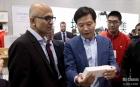 CEO của Microsoft tới thăm trụ sở Xiaomi