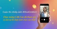 Cùng xem tác phẩm của 5 Mi Fan có lượt bình chọn cuộc thi #ShotOnMiA1 cao nhất !