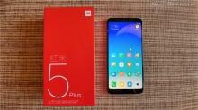 Đập hộp và hình chụp cẩn cảnh Xiaomi Redmi 5 Plus