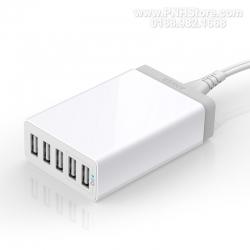 Bộ sạc Anker PowerPort Lite 5 cổng USB 1,5m