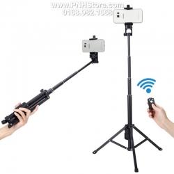 Gậy chụp hình Bluetooth Selfie Stick Tripod YunTeng 1,33m