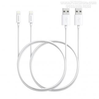 Cáp Lightning Anker dài 0.9m chuẩn MFI Apple