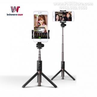Gậy chụp hình Bluetooth Selfie Stick Tripod Winnersun 66cm