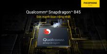 Pocophone F1: Tản nhiệt chất lỏng + Snapdradragon 845 !