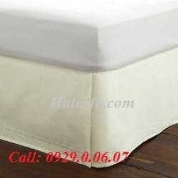 07 Bộ váy giường màu trắng cao cấp nhất