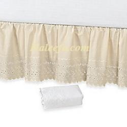 Bộ váy giường trắng cao cấp