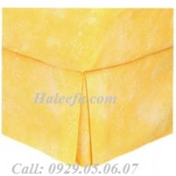 Nhóm sản phẩm váy giường màu vàng
