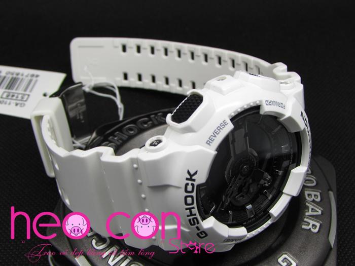 Đồng hồ G-Shock GA-110GW-7A White Black Fake Replica