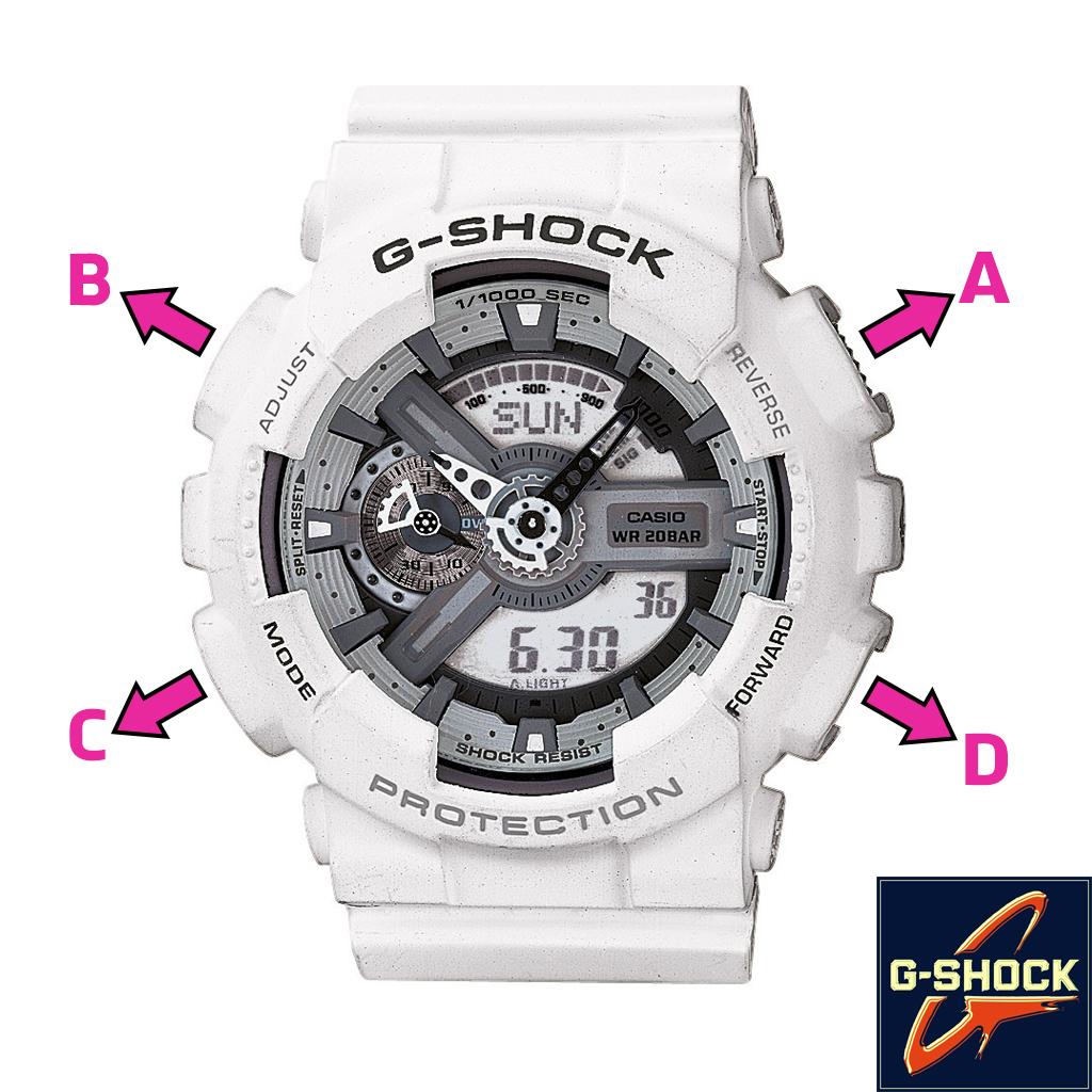 Cách chỉnh Đồng hồ G-Shock