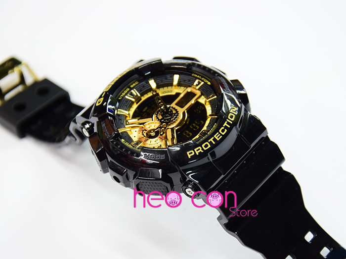G-Shock GA110 Gold Black Replica