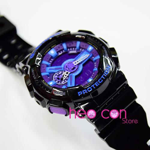 G-Shock GA110HC-1A Đen xanh tím