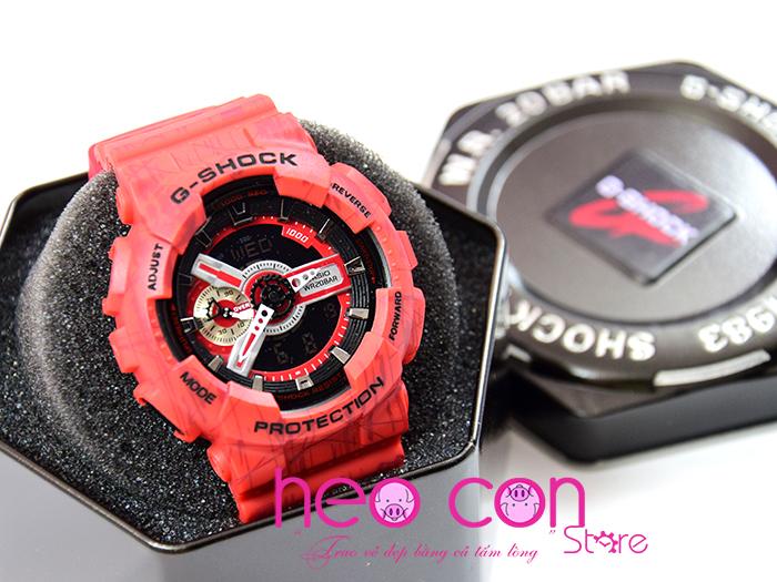 g-shock ga-110sl đỏ