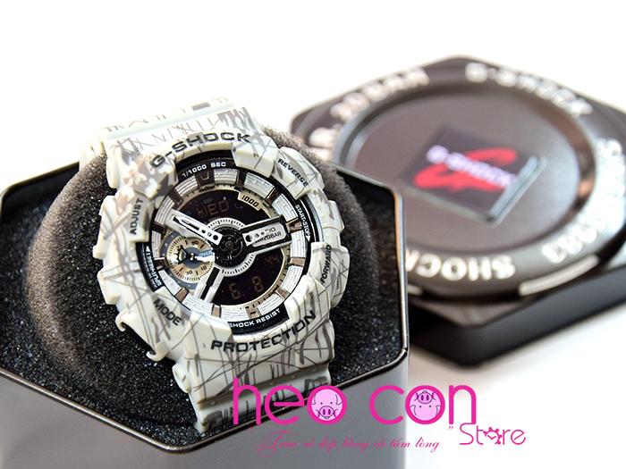 đồng hồ G-shock replica slash pattern