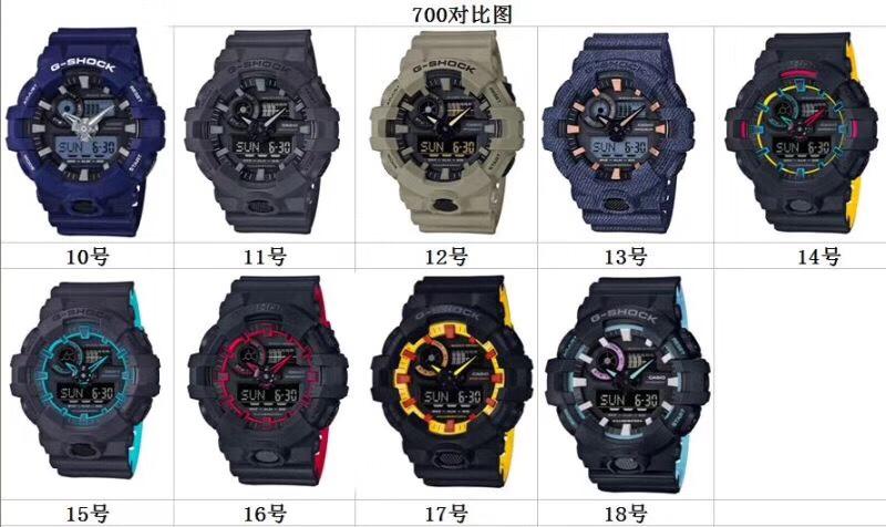 Đồng hồ G-Shock GA-710 Super Fake Replica 1:1 - HeoConStore.Com