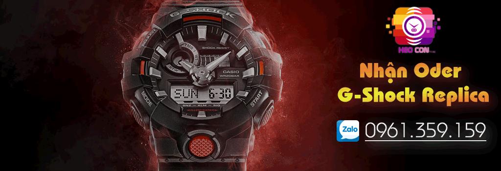 Đồng hồ Heo Con Store nhận Order các dòng đồng hồ G-Shock & Baby-G REPLICA