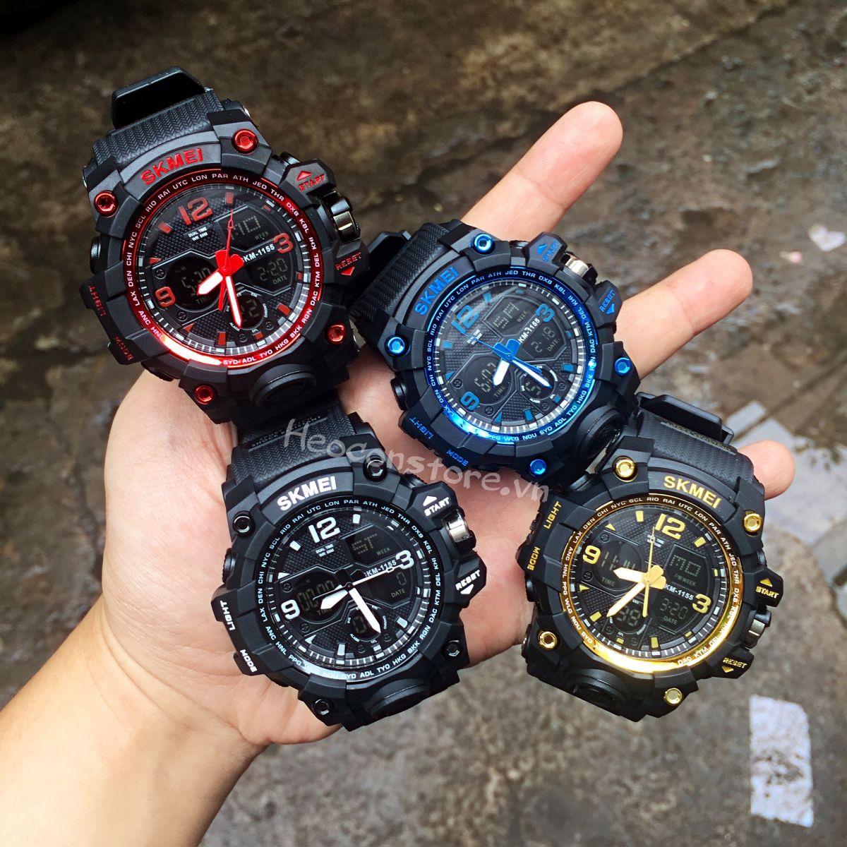 đồng hồ thể thao nam SKMEI 1155B | Heoconstore.com