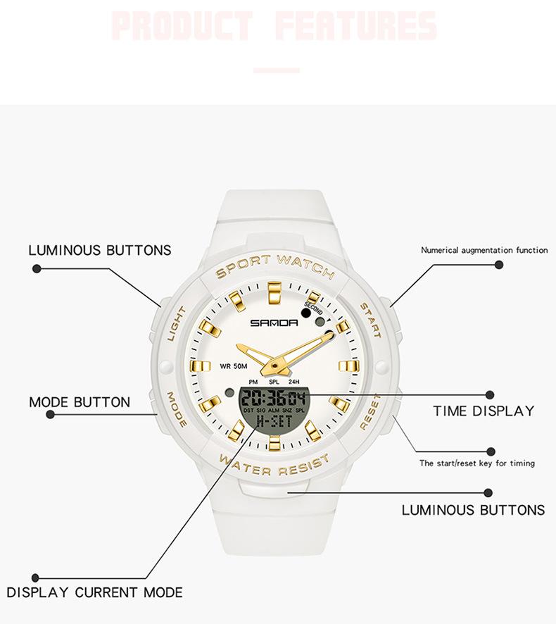 sanda 6005 white gold