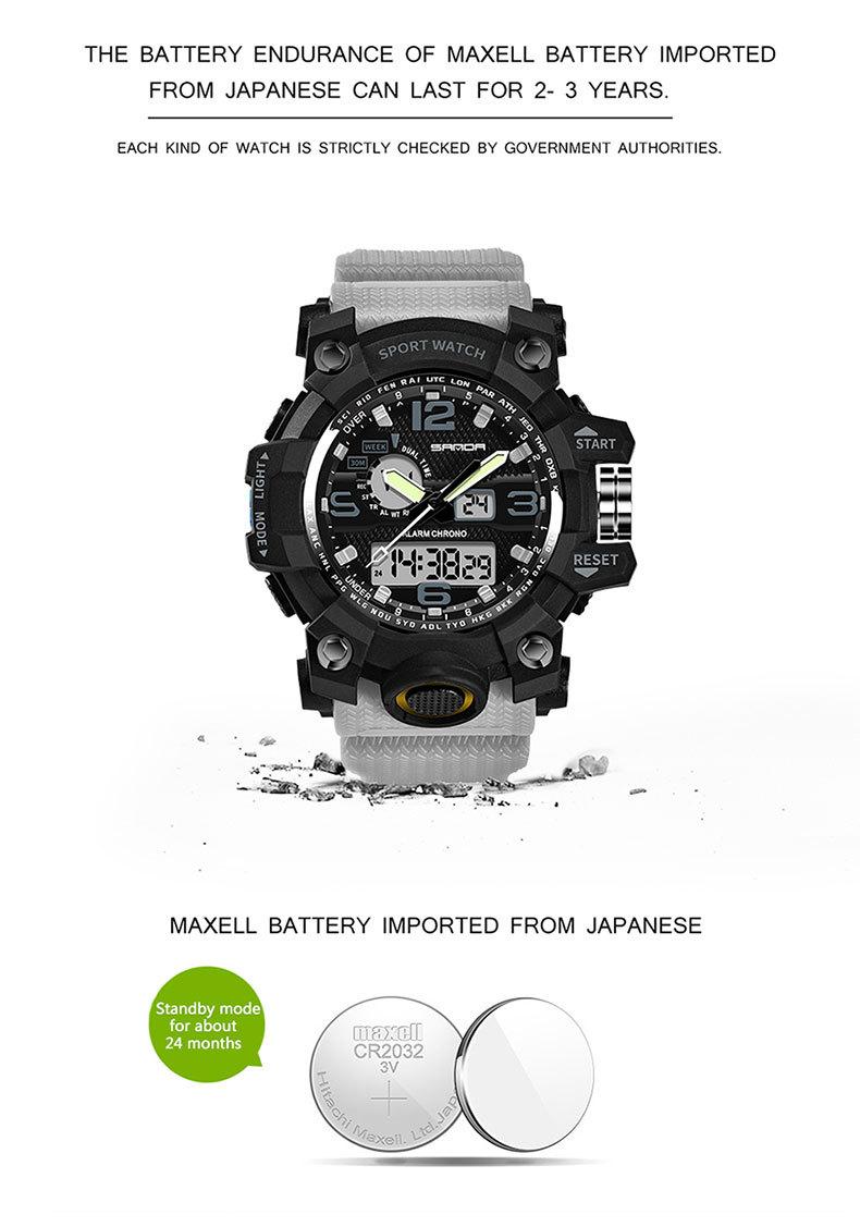 đồng hồ sanda 742