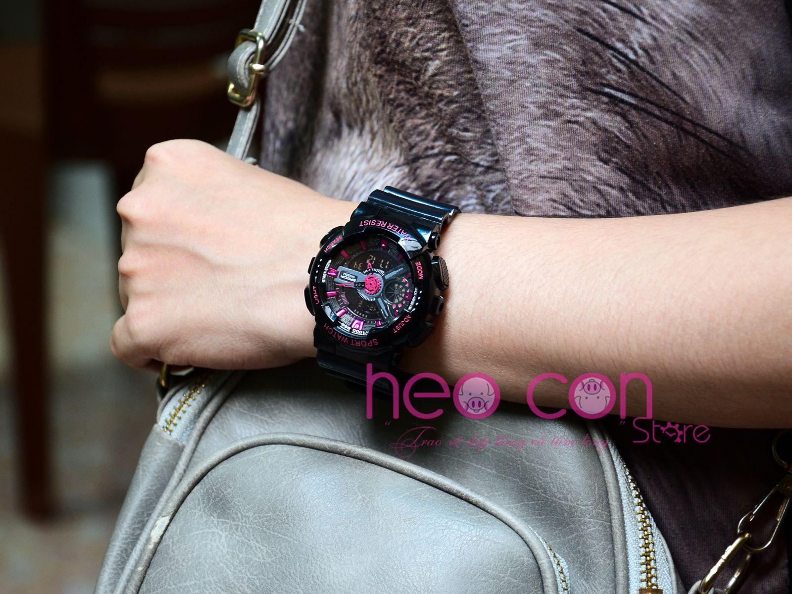 đồng hồ sanda chính hãng chống nước dành cho nữ - 292