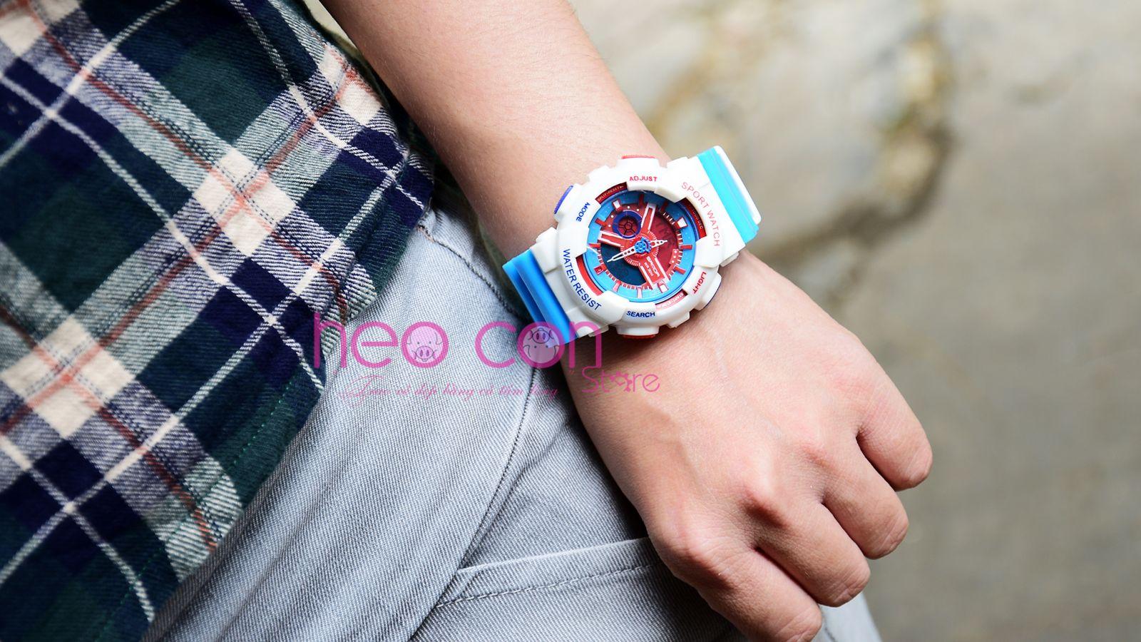 đồng hồ baby-g doraemon