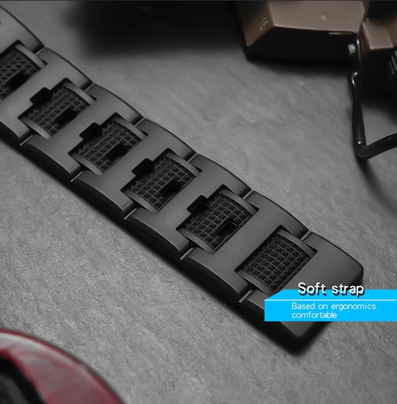 dây đồng hồ sanda 6008