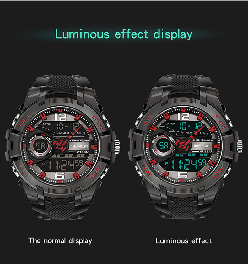 đồng hồ sanda SD6015