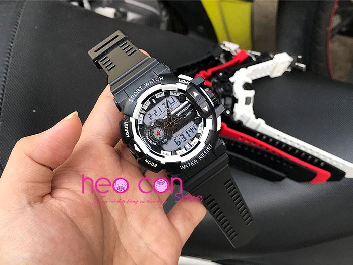 Đồng hồ thể thao nam điện tử SANDA 599