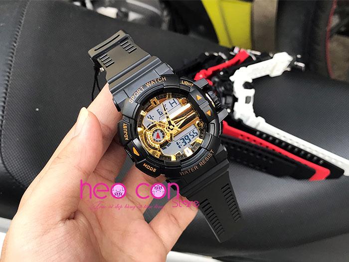 đồng hồ điện tử nam sanda 599 chinh hãng