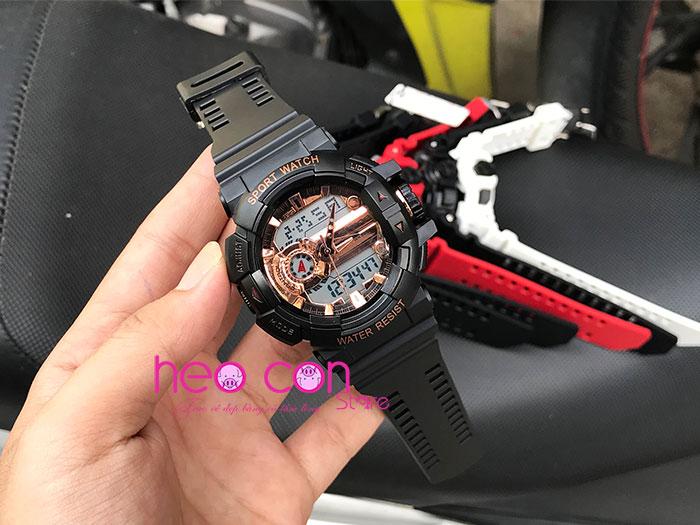 đồng hồ sanda chính hãng chống nước giá rẻ - sanda 599