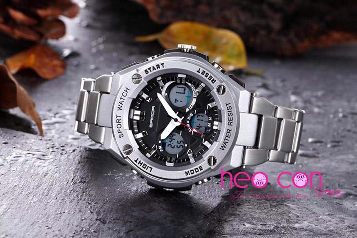đồng hồ chính hãng thể thao sanda 783 - heo con store chuyên phân phối