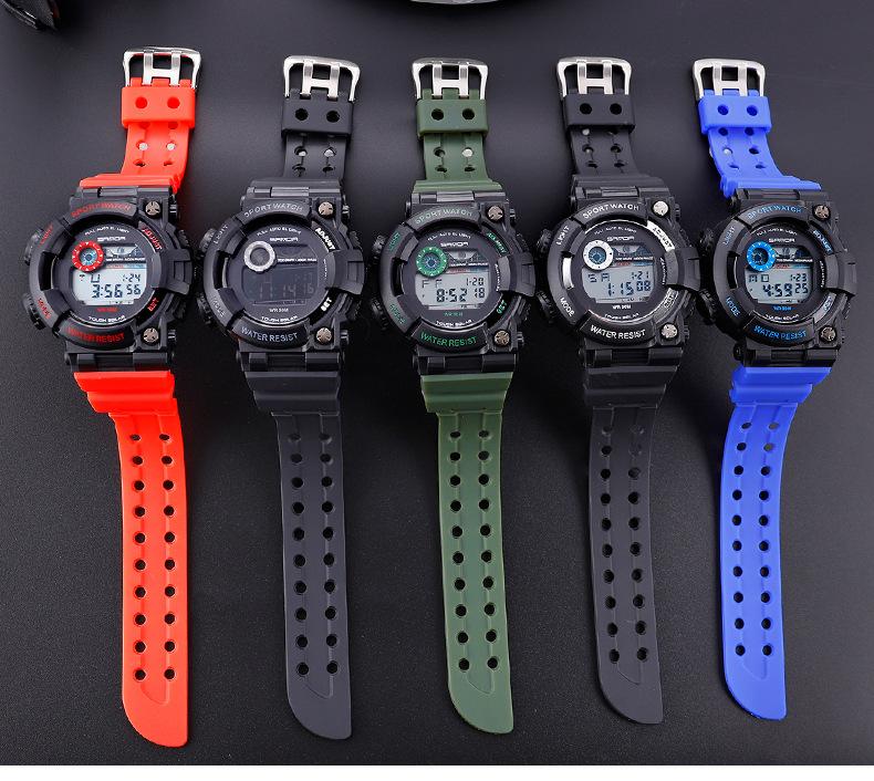 đồng hồ điện tử sport watch sanda 668 frogman style