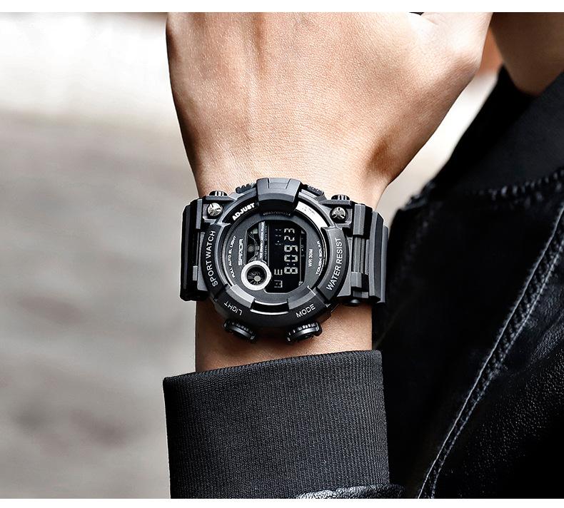 đồng hồ điện tử sanda 668 Frogman cá tính Độc đáo