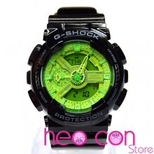 Đồng hồ G-Shock GA-110B-1A3 Hyper Colors Black&Green Replica