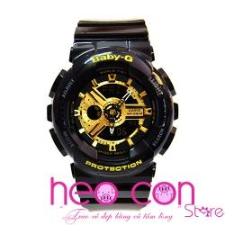 Đồng hồ Baby-G BA-110-1A Black Gold Replica