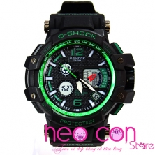 Đồng hồ G-Shock GPW-1000 Black Green Fake 1