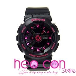 Đồng hồ Baby-G BA-111-1A Black Pink Replica