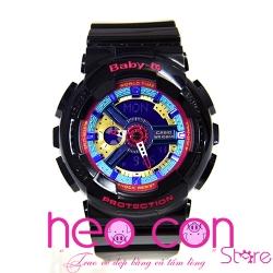 Đồng hồ Baby-G BA-112-1A Multicolor Black Replica
