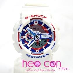 Đồng hồ G-Shock GA-110TR-7A White Tricolor Series Replica