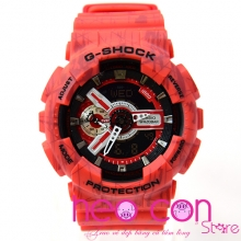 Đồng hồ G-Shock GA-110SL-4A Slash Pattern Red Replica