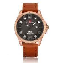 Đồng hồ Naviforce Nam Dây Da Cao Cấp - NF9061M