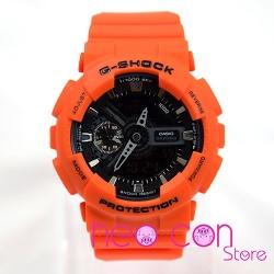 Đồng hồ G-Shock GA-110MR-4A Orange Black Replica
