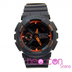 Đồng hồ G-Shock GA-110TS-8A4 Team Sport Grey Neon Orange Replica