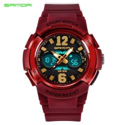 Đồng hồ Thể Thao Nữ SANDA Chống Nước - #757 (Đỏ)