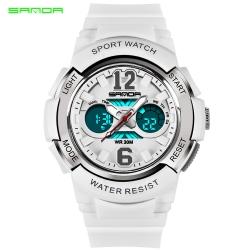 Đồng hồ Thể Thao Nữ SANDA Chống Nước - #757 (Trắng)