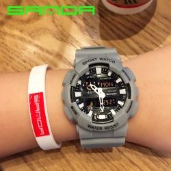 Đồng hồ Thể Thao SANDA Chính Hãng Chống Nước - #899 (Xám)