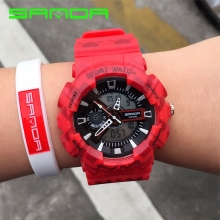 Đồng hồ Nam Thể Thao SANDA Chính Hãng - #999 (Màu Đỏ)